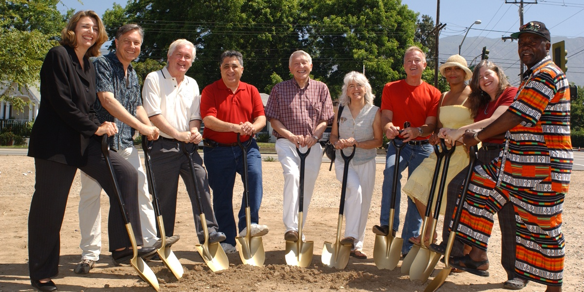 Altadena & AFC at Groundbreaking Ceremony for Old Marengo Park