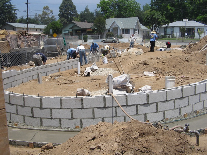 Block Work at Old Marengo Park