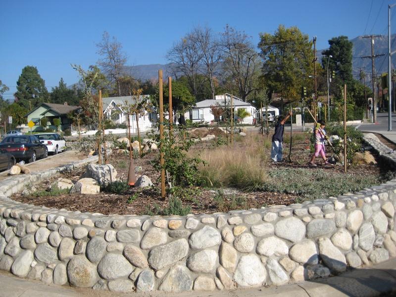 Planting at Old Marengo Park