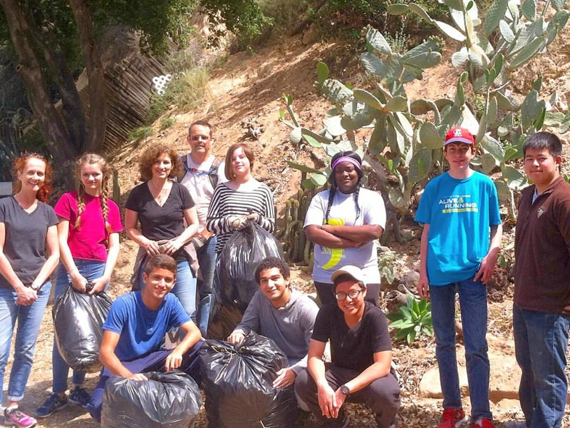 Volunteers at Rubio Canyon