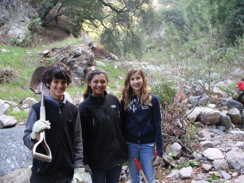 Youth at Rubio Canyon