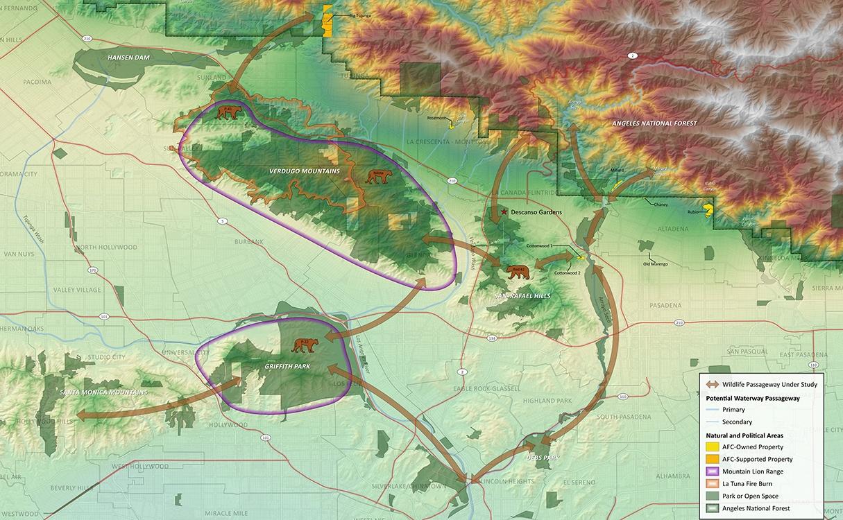 Descanso Map